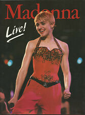 Madonna Program Book 1987 UK Concert Tour Who's That Girl