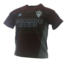 Colorado Rapids Official MLS Adidas Youth Kids Size Athletic Jersey New Tags