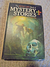 THE BOYS' LIFE BOOK OF  MYSTERY STORIES-1963-HARDCOVER-ILLUSTRATED-RAMDON HOUSE-