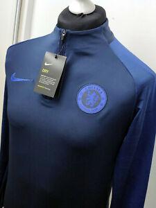 Nike Chelsea FC Strike Men's Football Drill Top - Medium- AO5177 452