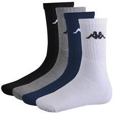 9 Paar Kappa Socken 39 - 46 NEU Farbset Sport Socken Schwarz Weiß Blau Grau