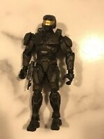 Halo Wars Spartan Soldier Mark IV Black RARE Action Figure