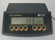 Hanna Instruments Ph Meter HI 2211 pH/ORP Meter