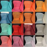 Light Weight Soft touch chiffon sheer fabric material Q354