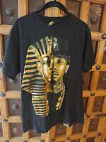 Last Kings Gold Pharaoh X T-Raww Face Last Kings T-Shirt Med