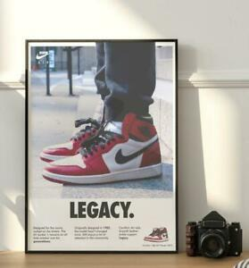 Jordan Legacy Retro Poster/Artwork - Sneakerhead - Hype - Sneaker - HypeBeast -