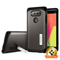 Spigen® LG V20 [Tough Armor] Shockproof Case Slim TPU Cover