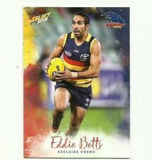 2018 afl select FOOTY STARS ADELAIDE CROWS EDDIE BETTS #8 COMMON CARD FREE POST