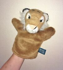 Lovely and Collectable Official Ark Toys Chester Zoo Tiger Hand Puppet Soft Toy