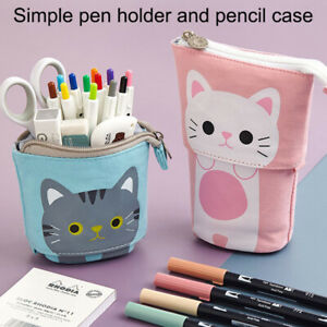 Pop-up Pencil Case Cute Multifunctional Pen Holder Stationery School Supplies AU
