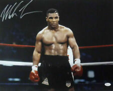 Mike Tyson Autographed/Signed Boxing 16x20 Photo JSA 15636