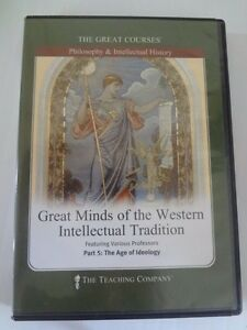 The Great Courses Great Minds Of The Western Intellectual Tradition Part 5 DVD