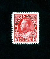 Canada Stamps # 109 XF OG H Type I Scott Value $17.00