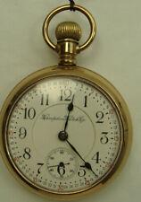 Hampden, John Hancock, Railroad, Pocket Watch  drw6