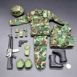 "1:6 Ultimate Soldier Modern US Army Soldier Uniform Set 12"" GI Joe Dragon BBI 21"