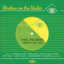 RHYTHM ON THE RADIO - OVAL RECORDS 1974-87 (ED SIRRS, ABC,...) CD NEW!