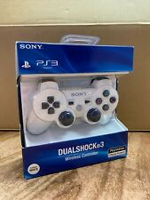 Sony PS3 Playstation DualShock 3 Wireless Bluetooth Controller White New In Box