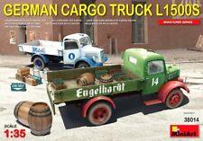 Miniart 1:35 Mercedes-Benz L1500S German Cargo Truck Model Kit