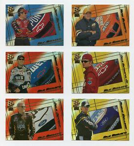 2002 Press Pass VIP Mile Masters Complete Insert Set Jeff Gordon Dale Earnhardt