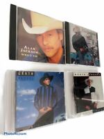 Lot of 4 Country Audio Music CDs Garth Brooks Alan Jackson Arista Sony Records