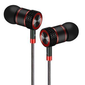 Auricolari,Cuffie ad alta Definizione, isolamento acustico, Nero e rosso