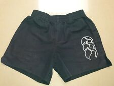 Bx1-2) Boys Girls size 12 Black Canterbury Shorts