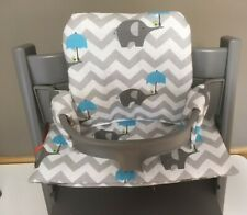 Cushion to fit Stokke Tripp Trapp High Chair blue balloon BNIB