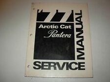 1977 Arctic Cat Pantera Snowmobile Service Manual