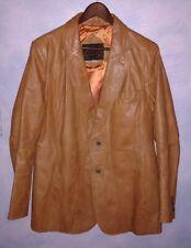 Western style leather blazer jacket by Casablanca.