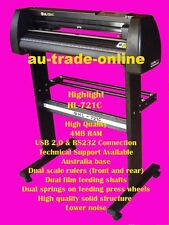 2009 artcut HL-721  VINYL SIGN PLOTTER CUTTER CorelDraw