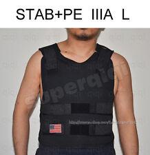 Stab+ PE Bullet Proof Bulletproof Vest body armor coat NIJ level IIIA 3A L