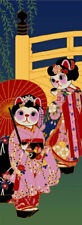 Cat series Tenugui - TOWEL (Maiko) Free Shipping !!