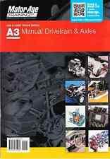 A3 ASE Automotive Manual Drivetrains Axles Test Prep Manual Guide 1934855089