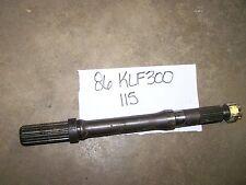 kawasaki klf300 klf 300 bayou left rear drive shaft axle  1987 1986 86 87