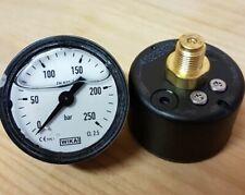 Manometer für Kränzle Wap Kärcher usw  40 mm Durchmesser  250 bar