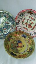 Daher decorated ware lovely tin bowls country kitchen decor