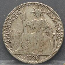 France - Frankrijk Colonie - 10 cent 1930 A Indo China - silver