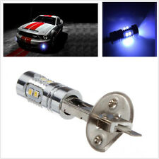 2Pcs Light-blue HID Color H1 Car Fog Light /High Beam DRL  Indicator Wide Lamp