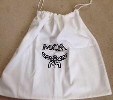 NWOT MCM Dust Bag White with Drawstrings Large