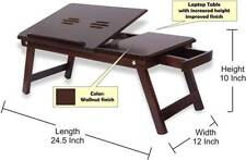Wooden Laptop Table Portable Laptop Table Best Quality Lappy Table 24""