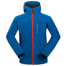 New Men Waterproof Soft Shell Outdoor Jacket Hiking Climbing Cycling Golf Jacket