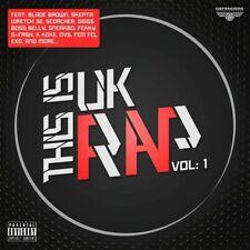 THIS IS UK RAP VOL. 1 (2012) 40-track 2-CD NEW/SEALED Blade Brown Skepta