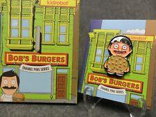 Kidrobot Bob's Burgers NEW * Gene Burger Suit * Enamel Pin Blind Box 1/20 Opened