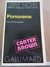 Carter Brown: Pornorama/ Gallimard, Série Noire N°1597, 1973