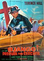 Plakat Kino Western Django Prepare Ton Sarg Terence Hill - 120 X 160 CM