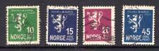 1¢ WONDER ~ NORWAY #111-14 VF USED 1925 ~ C769