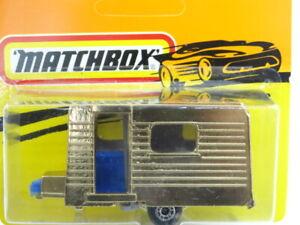 Bulgarian Matchbox Caravan ''GOLD'' Die Cast Car Model New Old Stock in Blister