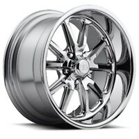17x8 ET1 US Mag U110 Rambler 5x114.3 Chrome Wheels (Set of 4)