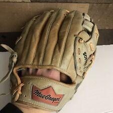 MacGregor Gsb Big Mac Full Grain Leather Softball Baseball Glove Rht