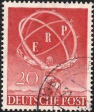 Germany Berlin 1950 European Recovery Programme  20pf Carmine-Lake  SG.B71  Used